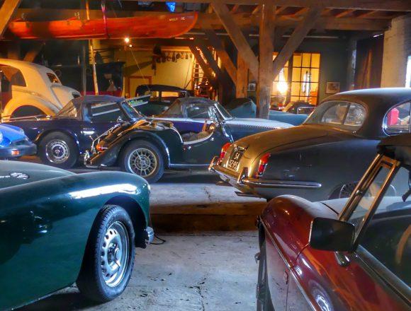 Indoor Storage Classic Cars