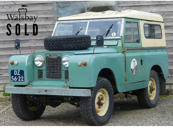 SOLD Land Rover