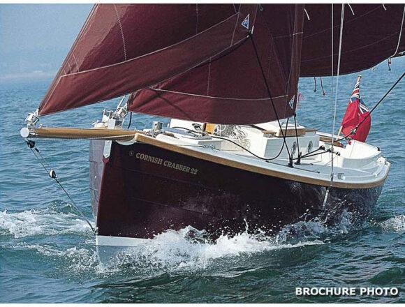 Te koop Cornish Crabber 22